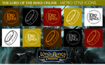 The Lord of the Rings Online - Metro Style Icons by xmilek