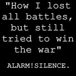 Alarm!Silence. animated