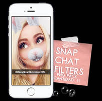 Snapchat Filters Png Pack by valeryscolors