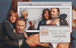 Andrew Lincoln and Norman Reedus Png Pack