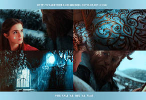 PSD COLORING #09|Tale as old as time by valeryscolors