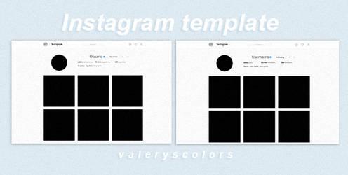 Instagram Template by valeryscolors