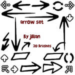 Photoshop Brush Set - Arrows