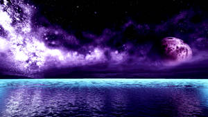 Purple Galaxy Azure 2