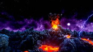 Devils Pit Purple Galaxy