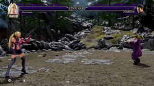 Purple x Black Lightning Health