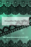 Decorative Border Stock by Michelangeline