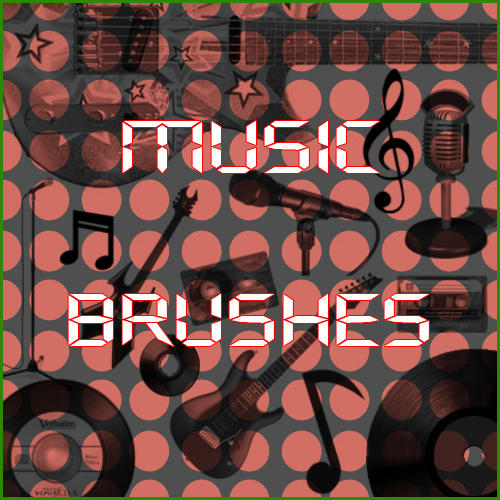 Music Brushes by whoisthatgirl