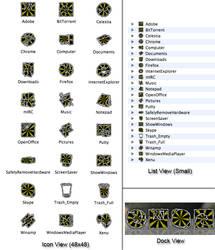 Zombie OSX Icons - 24 Folders