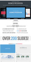 Modern Business Powerpoint Template by frozencolor