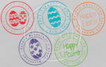 Easter Stamps Brushes