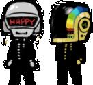 Daft Punk Shimeji -COMPLETE- by heathlynnn