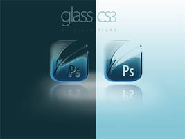 Glass CS3 Icons by lorddarq