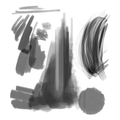 Hair and Blocking in Brushes by lorddarq