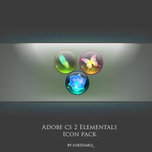 Adobe Elemental icons by lorddarq