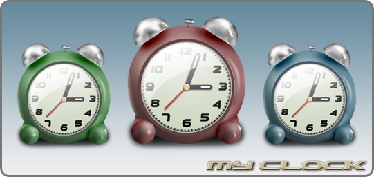 My Clock by Delacro
