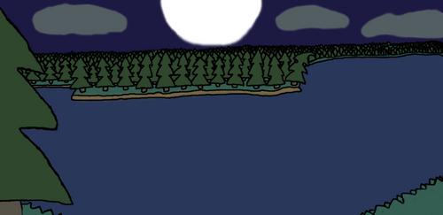 #6 Lake And The Moon