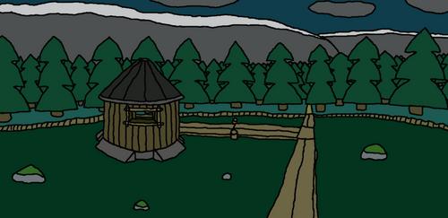 #8 The Swamp Hut
