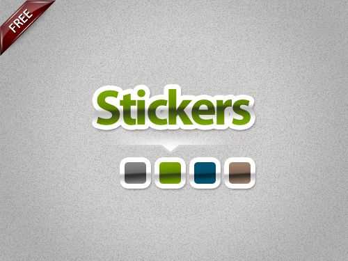 Stickers Styles by artnook