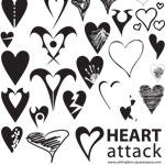 Heart Attack Shapes by Grimmzero