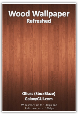 Wood Wallpaper - Refreshed