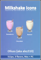 Milkshake Icons