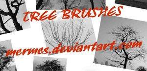 Tree Brush by mermes