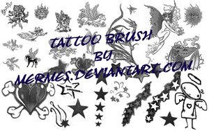 Tattoo Brush by mermes