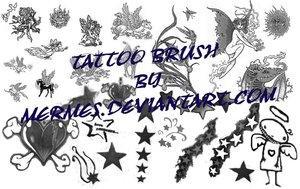 Tattoo Brush by mermes