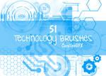 51 Technology Brushes