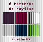 6 Stripes Patterns