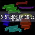 8 brushes de cintas