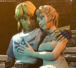 Link and Ilia Romance
