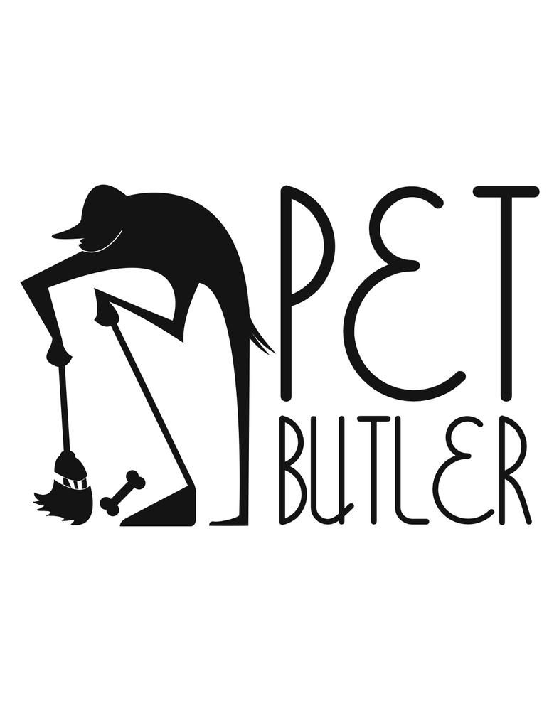 Pet Butler Logo by dippydude