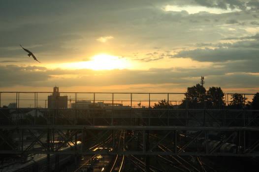 Minsk Railroad time-lapse
