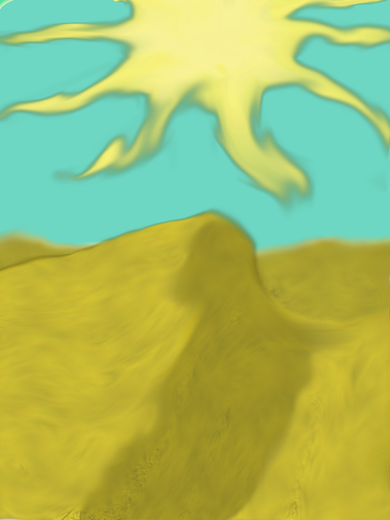 The Hot Desert Sun by JuleesCreations