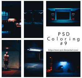 PSD Coloring #9