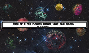 PNG Planets By  RTRQUILL