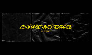 25 Grunge paper textures by RTRQuill