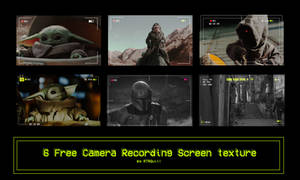 6 Free Camera Recording Screen texture by RTRQuill