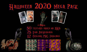 Halloween 2020 Mega Pack by RTRQuill