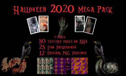 Halloween 2020 Mega Pack by RTRQuill by RTRad