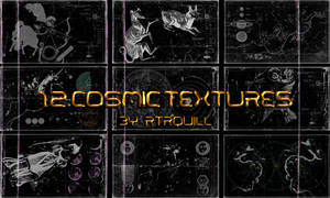 12 Cosmic Textures by RTRQuill