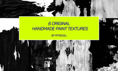 6 Handmade paintexture by RTRQuill by RTRad