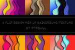6 Flat designs pop up backgrounds by RTRQuill by RTRad