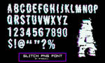 Glitch font by RTRQuill by RTRad