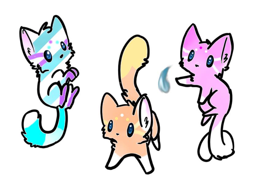 Lover Kpop Cute Cats Anime
