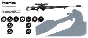 Penumbra - Destiny Custom Weapon