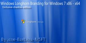 Windows Longhorn Brand for Windows 7