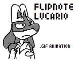 Flipnote Lucario